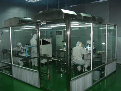 Anti-Bacterial Glass Rooms for Any Kind of Industries Which Required Bacteria-Free Working Environment