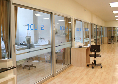 Anti-Bacterial Glass, Window and Door Applied in ICU