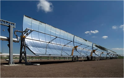 AR Glass of Solar Parabolic Mirror for CSP Solar Thermal System