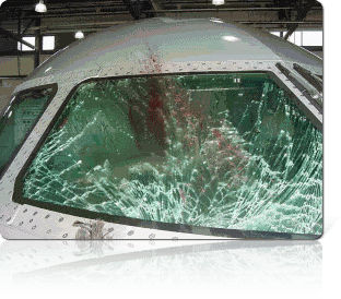 Aircraft Armour Glass Prevents From Fatal Accidents