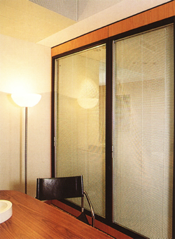 Privacy Insulated Glass Partition for Conference Room