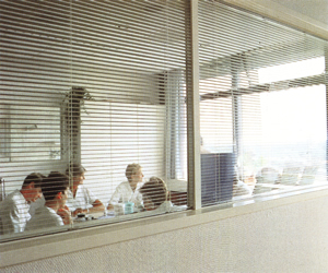 Smart Insulated Glass Window for Office
