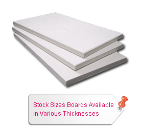 Stock Sizes Boards Available in Various Thicknesses