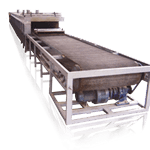 Continuous Belt Conveying Fusing Glass Kiln