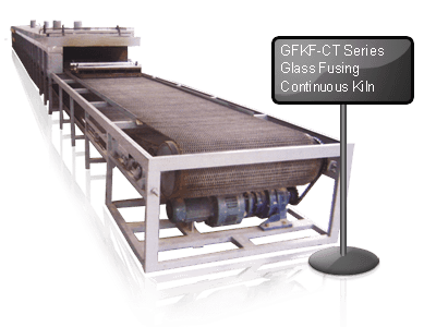 GFKF-CT Series Glass Fusing Continuous Kiln