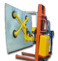 MPL-M-B Mobile Rolling Glass Lifting and Tilting Trolley