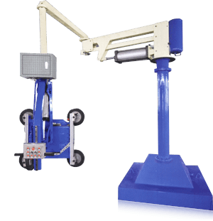 MPL-S-A Post or Ceiling Mounted Glass Slewing Crane Manipulator