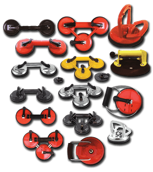 Versatile Hand Suction Cups Lifters