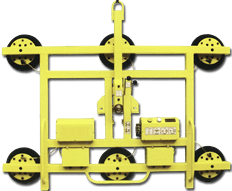 CL-V-MC-3 Manual Tilt & Rotate Cups Lifter Up to 350kg & Extendable to 2400mm Wide