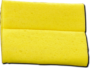 IG Corner Sealant Scraping Sponge Made of Special Material Non-Sticky with IG Sealants