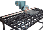 IG-ED-SA-A Low-E Glass Coating Edge Deletion and Processing Table with Castor Balls