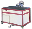 IG-ED-SA-B Bears Air Floatation Table Top for Glass Handling During Low-E Edge Removal Work