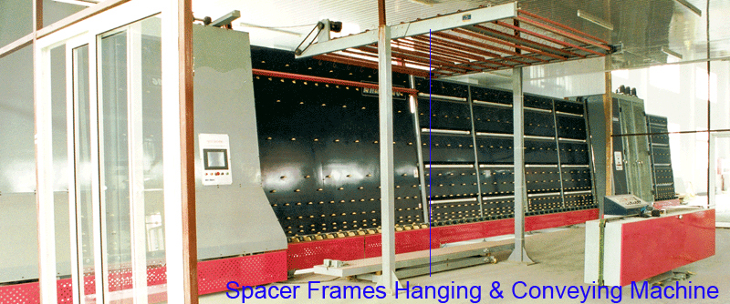 Overhead Hanging Conveyor For Spacer Frame