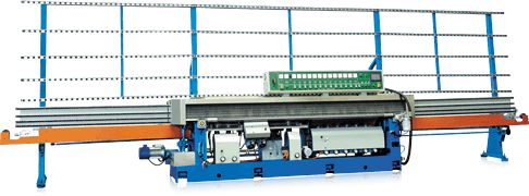 SAE13A Advance Automatic Glass Mitering and Edging Machine with PLC and Touch Panel Display Also for Flat and Seam