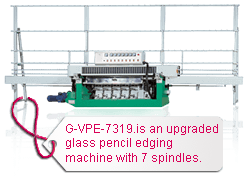 Spindles G-VPE-7319 Grinds & Polishes Pencil, OG & Waterfall Edgeworks In One Pass