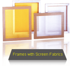 Well Stretched Stencil Screen Fabrics Well Glued On Well Made Frames