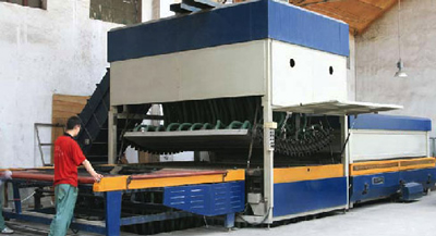 GTF-(TB)-(xxxx+xx)-1 Horizontal Glass Flat & Transverse Bending & Tempering Furnace for Large Bend Glass
