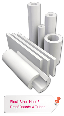 Stock Sizes Fire Proof Boards & Tubes